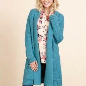 Matilda Jane Cool Fountain Teal Cardigan Sweater